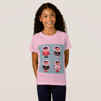 Kids t-shirt with little Eskimos