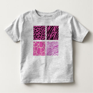 Kids t-shirt with pink Giraffe