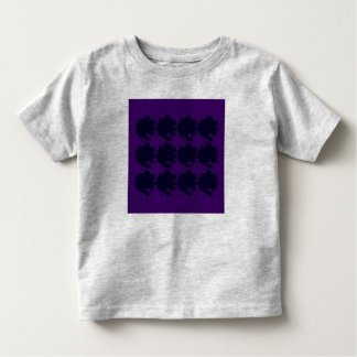 Kids t-shirt with  Roses black