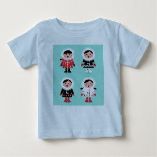 KIDs t-shirt with winter Kids
