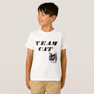 Kid's Team Cat by Mini Brothers T-Shirt