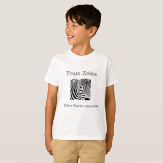 Kids Team Zebra T-Shirt