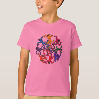 Kid's Tee Shirt - Circle of Lizards