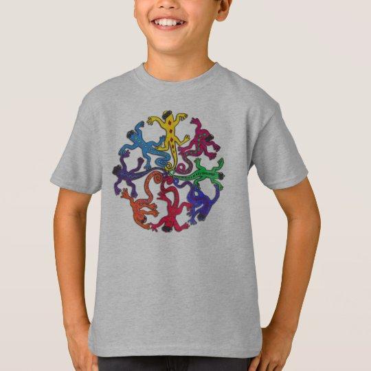 Kid's Tee Shirt - Circle of Lizards