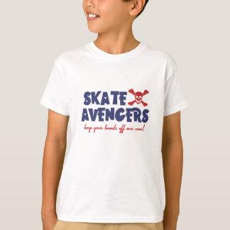 KIDS TEE - Skate Avengers - pale