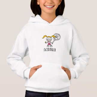 Kids tennis clothes | Custom sport hoodie for girl