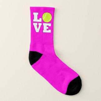 Kids Tennis Love Custom Color Tennis Player Socks