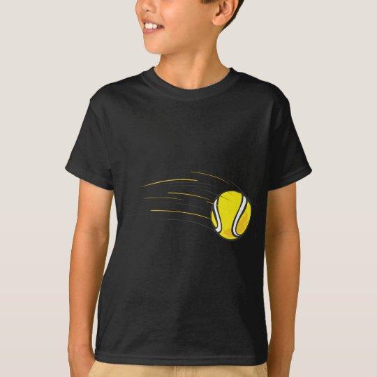 Kids Tennis Shirts - Flying Tennis Ball Kids