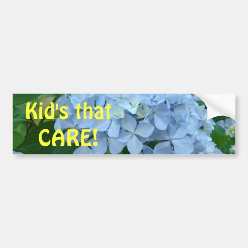 Kid's that CARE! bumper stickers Studdents School