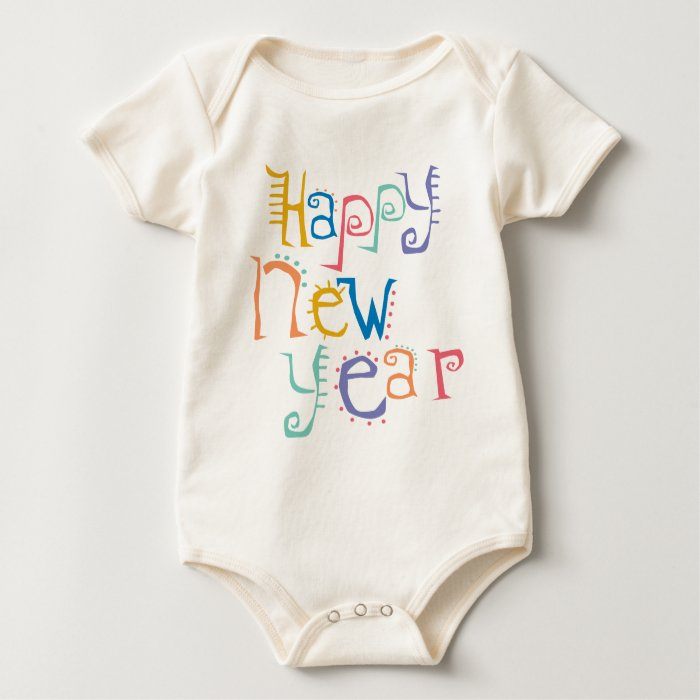 Kids, Toddler, Baby New Years Resolution Baby Bodysuit