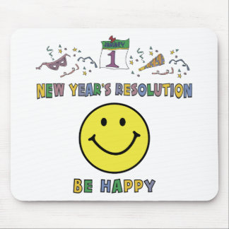 Kids, Toddler, Baby New Years Resolution Mouse Pads