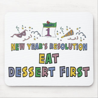 Kids, Toddler, Baby New Years Resolution Mousepad