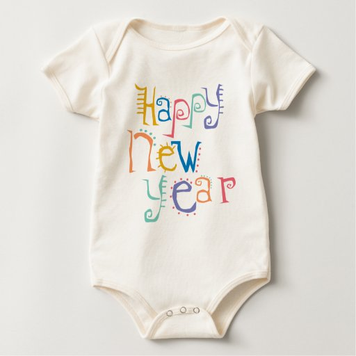 Kids, Toddler, Baby New Years Resolution Rompers