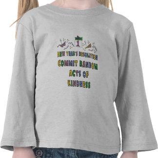 Kids, Toddler, Baby New Years Resolution Shirt