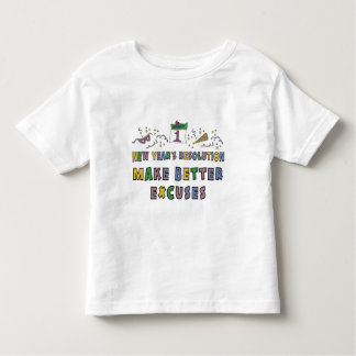Kids, Toddler, Baby New Years Resolution T Shirt