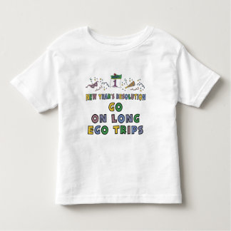 Kids, Toddler, Baby New Years Resolution Tee Shirts