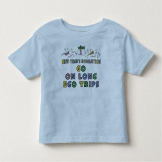 Kids, Toddler, Baby New Years Resolution Toddler T-Shirt