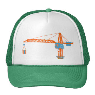 Kids' Toy Crane Drawing Cap