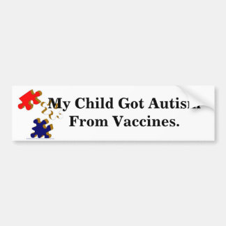 Kids-Toys-Puzzle_Pieces_1, My Child Got Autism ... Bumper Sticker