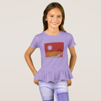Kids travel t-shirt Lavender