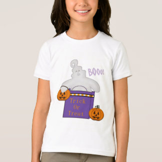 Kid's Trick or Treat Ghost TShirt