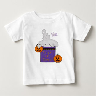 Kid's Trick or Treat Happy Ghost TShirt
