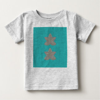 Kids tshirt grey with lotuses