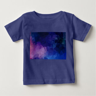 Kids tshirt with Blue fractals
