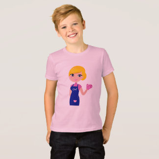 KIDS Tshirt with Chef Mother
