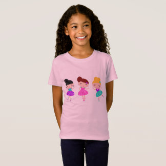 Kids tshirt with little balerina