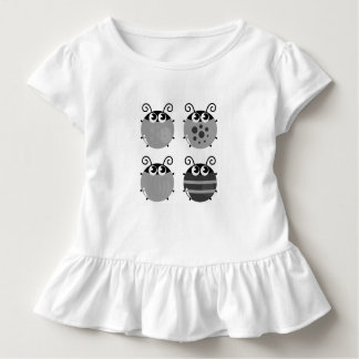 Kids tshirt with little bugs