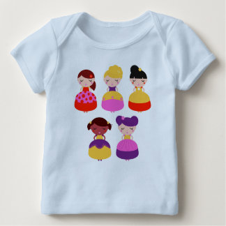 Kids tshirt with Princess