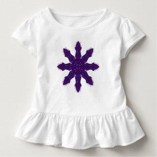 Kids tshirt with purple flower
