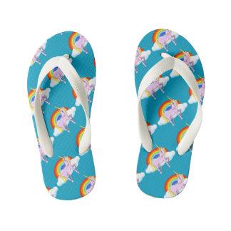 Kids Unicorn Flip-Flops Flip Flops
