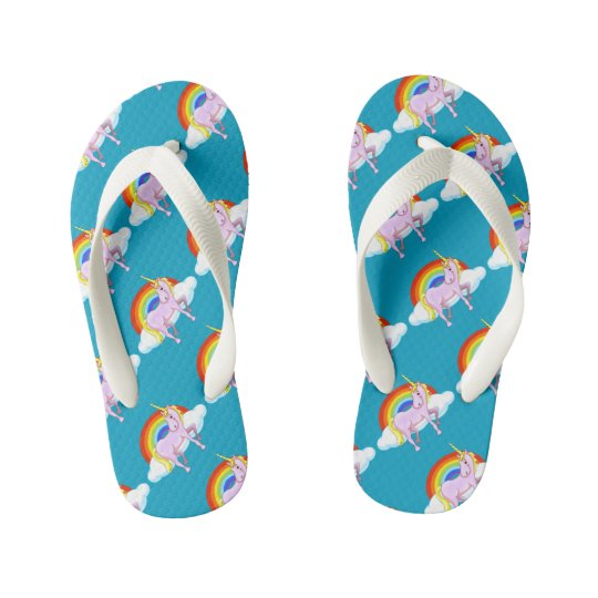 Kids Unicorn Flip-Flops Kid's Flip Flops
