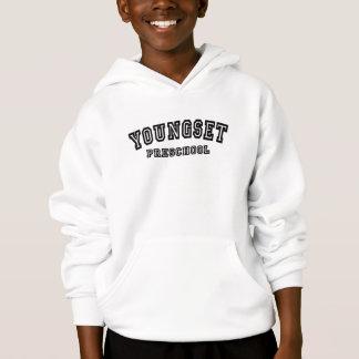 Kid's university logo hooded sweatshirt