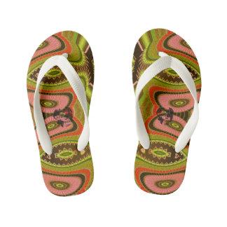 Kids Venus Flip Flops By Louisa Catharine Design