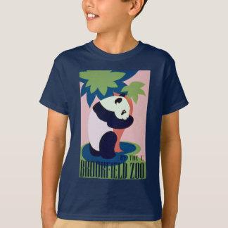 Kids Vintage WPA Brookfield Zoo Panda T shirt