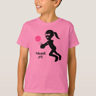 Kids Volleyball Girl T-Shirt