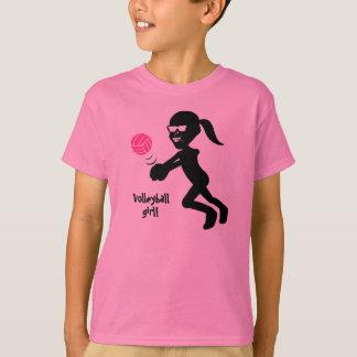 Kids Volleyball Girl T-Shirt