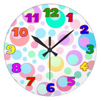 Kids Room Clocks Crowdbuild For - Wall clock for kids room