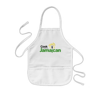 Kids White Cotton Apron