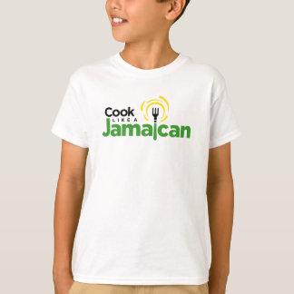Kid's White Cotton T-Shirt