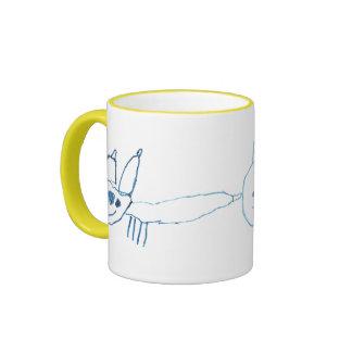 Kid's Wildcat Art mug
