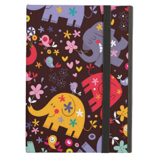Kids World - Happy Elephants Case For iPad Air