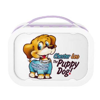 Kids Yubo Lunchbox Chester Leo: The Puppy Dog!