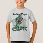 KidsNameOSAURUS Rex Edit with your kid's name! Tee Shirts