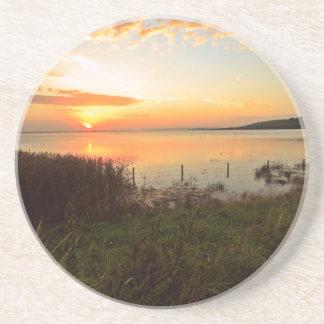 Kidwelly Sunset Coaster