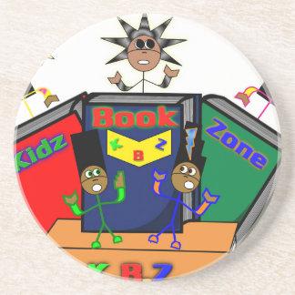 Kidz Book Zone Drink Coaster