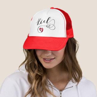 Kiel Heart Trucker Hat, Germany Trucker Hat